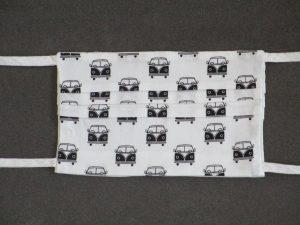 Mondkapje mondmasker busje (voorkant)