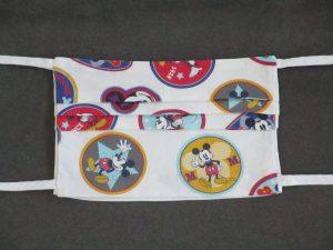 Mondkapje mondmasker Mickey Mouse (voorkant)